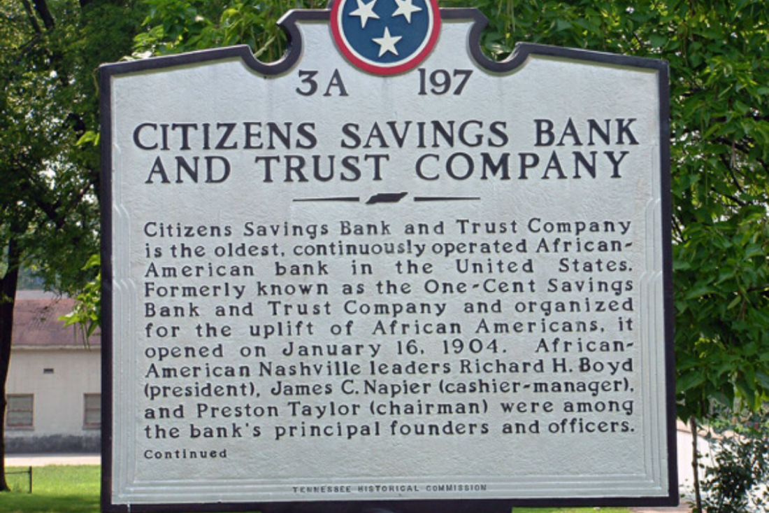 A Little Nashville History: Citizens Savings Bank and Trust