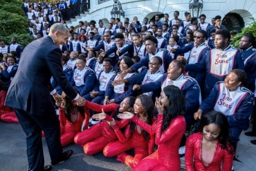 tennessee-state-university-marching-band-meeting-president-obama