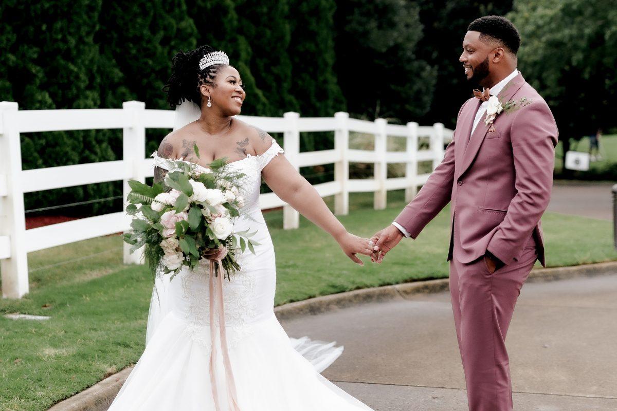 Real Nashville Wedding: A Romantic Garden Wedding
