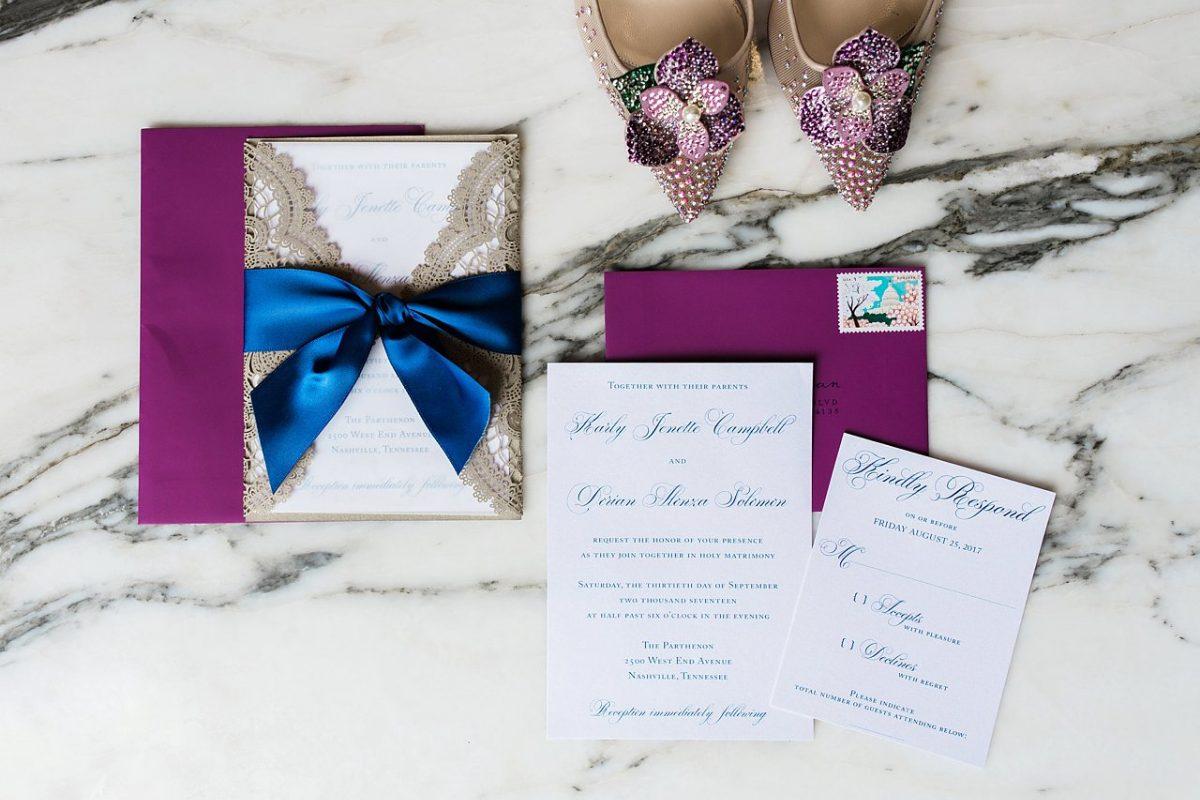 A Nashville Parthenon Wedding by Elle Danielle